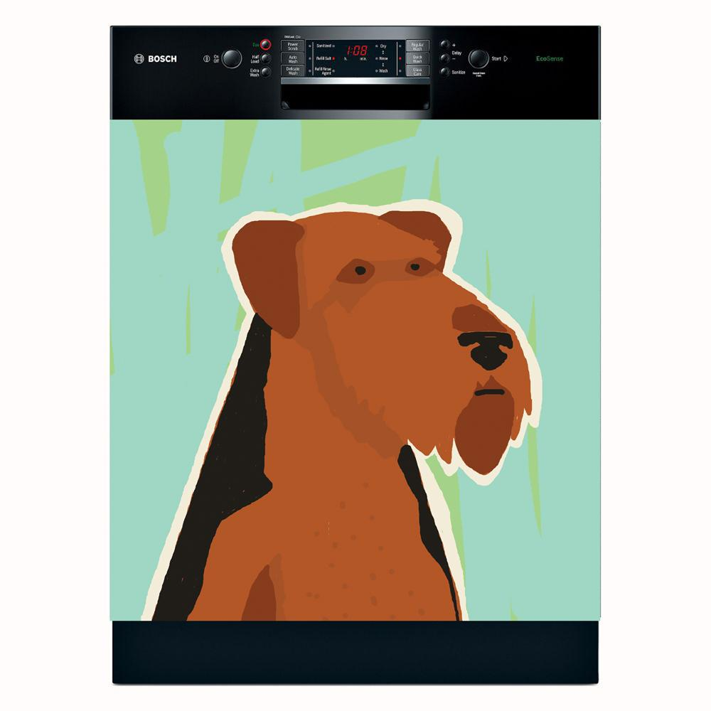Appliance Art 'Terrier' Dishwasher Cover