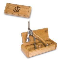 Picnic Time Washington Redskins Corkscrew and  Bamboo  Box