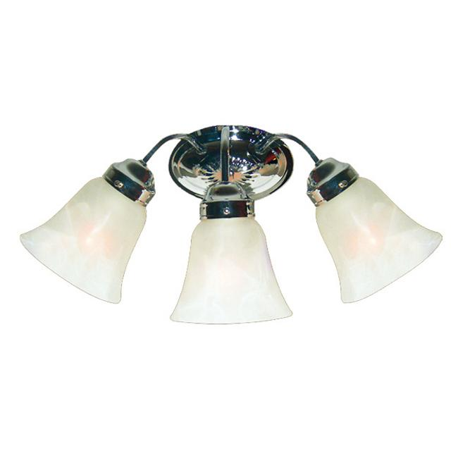 Woodbridge Lighting Ridgemont 3-light Chrome Bath Sconce