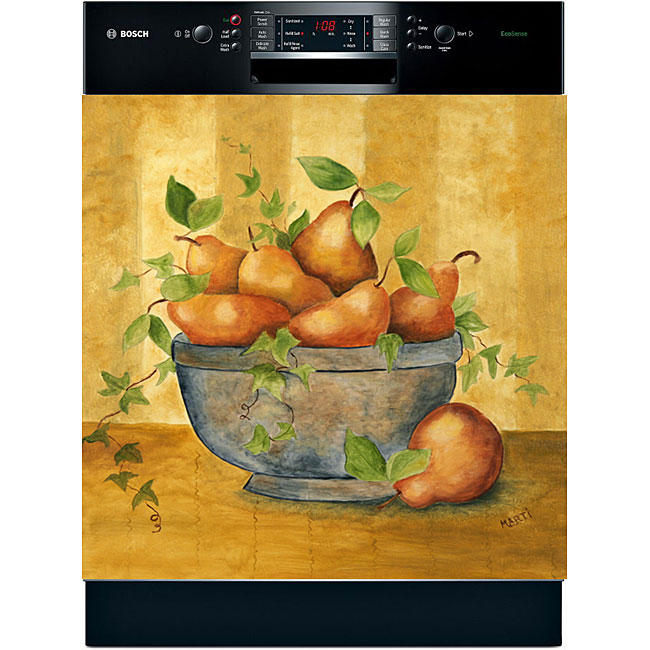 Appliance Art 'Pears in Bowl' Dishwasher Cover