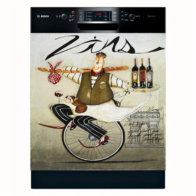 Appliance Art 'Vins' Dishwasher Cover