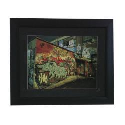 Xavier Nuez 'Nutin' Modern Framed Art