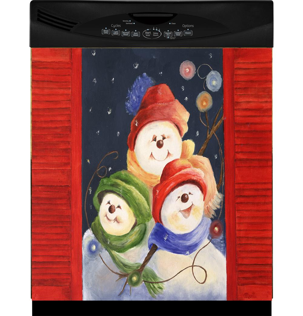 Appliance Art 'Three Happy Faces' Dishwasher Cover