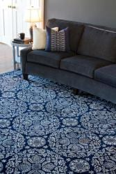 Smithsonian Collection Hand-tufted Topeka Oriental Pattern Wool Rug (5' x 8')