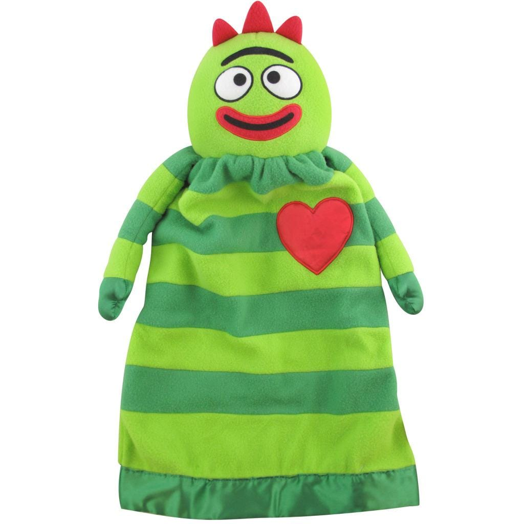 Lovie Original Yo Gabba Gabba 'Brobee' Security Blanket