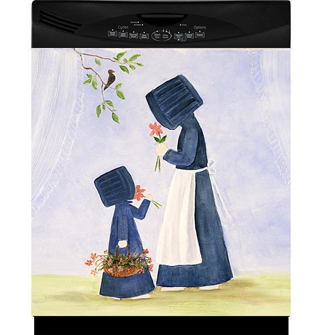 Appliance Art 'Amish Women' Dishwasher Cover