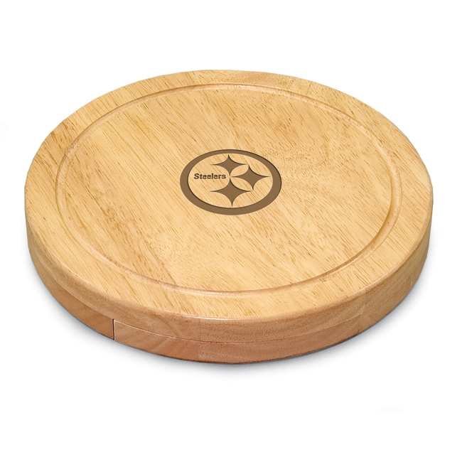 Picnic Time Pittsburgh Steelers Circo Cutting Board - Thumbnail 0