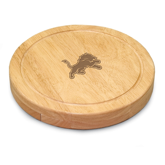 Picnic Time Detroit Lions Circo Cheese Board Set - Thumbnail 0