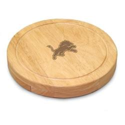 Picnic Time Detroit Lions Circo Cheese Board Set - Brown - Thumbnail 0