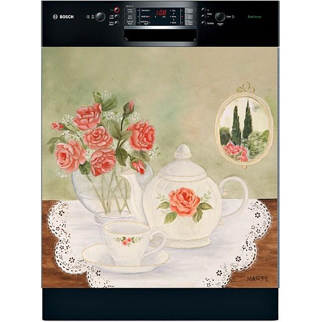 Appliance Art 'Tea Time' Dishwasher Art