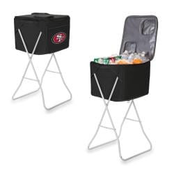 Picnic Time San Francisco 49ers Black Party Cube