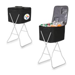 Picnic Time Pittsburgh Steelers Party Cube - Black