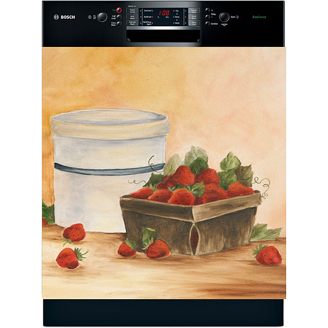 Appliance Art 'Strawberry Time' Dishwasher Cover