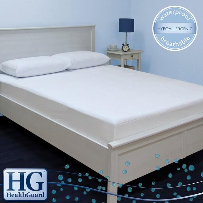 HealthGuard Bed Protector Ultra Plush King-size Mattress Protector