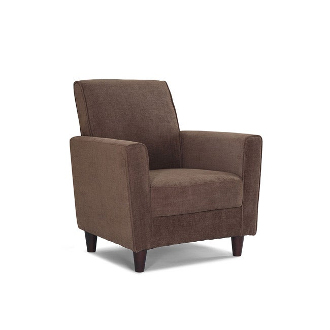 Enzo Peat Upholstered Accent Chair