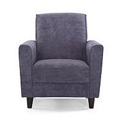 Enzo Steel Accent Chair Free Shipping Today Overstock
