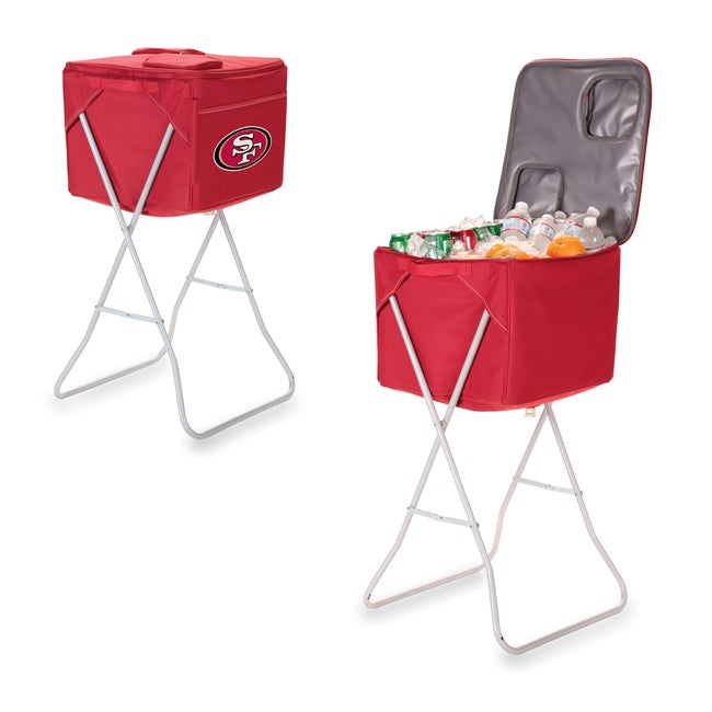 Picnic Time San Francisco 49ers Party Cube
