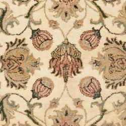 Safavieh Handmade Eden Ivory Hand-spun Wool Rug (3' x 5') - Thumbnail 2