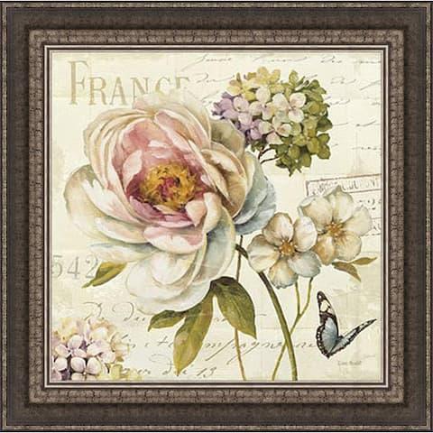 Lisa Audit 'Marche de Fleurs III' Framed Print Art
