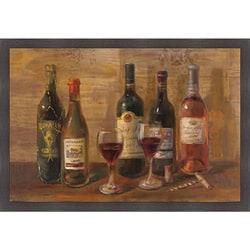 Danhui Nai 'Wine Tasting' Framed Art Print