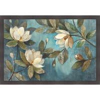 Albena Hristova 'Floating Magnolias' Framed Art Print