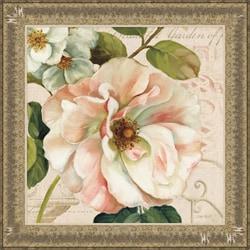 Lisa Audit 'Les Jardin II' Framed Print Art
