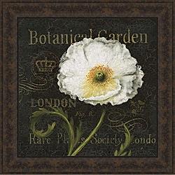Daphne Brissonnet 'Botanical Garden II' Framed Print Art - Multi - Thumbnail 0