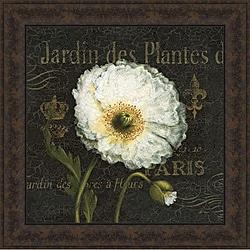 Daphne Brissonnet 'Botanical Garden I' Framed Print Art