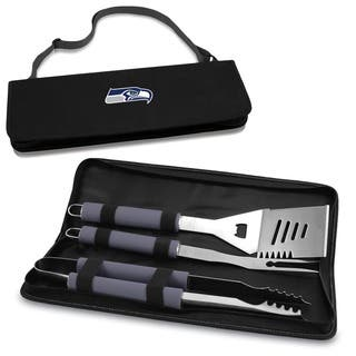 Picnic Time Seattle Seahawks 3-piece Metro BBQ Tool Tote|https://ak1.ostkcdn.com/images/products/6194080/P13844017.jpg?impolicy=medium