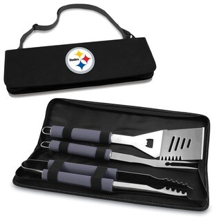Picnic Time Pittsburgh Steelers Metro BBQ Tool Tote