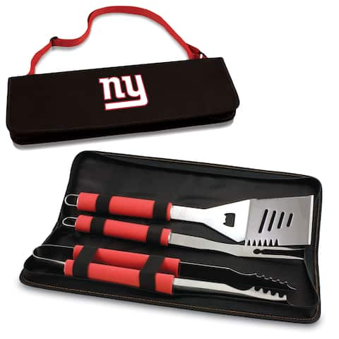 Picnic Time New York Giants Metro BBQ Tool Tote - Red