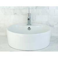 Round Vitreous China Bathroom Vessel Sink