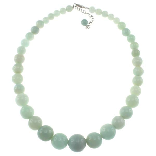 Pearlz Ocean Amazonite Graduated Necklace