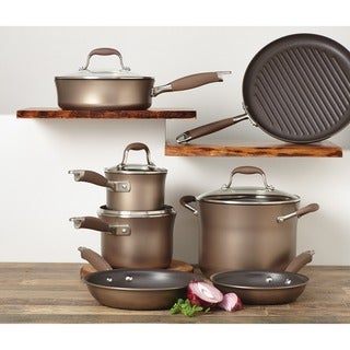 Link to Anolon Advanced Bronze Collection Nonstick 11-piece Cookware Set Similar Items in Cookware