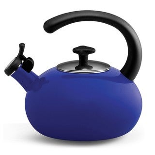 Rachael Ray 'Curve' Blue 2-quart Tea Kettle