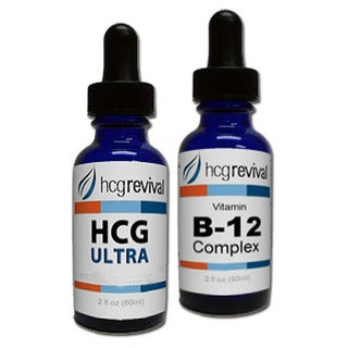 HCG 2-ounce. 43-day Alternative Ultra Drops with Vitamin B12