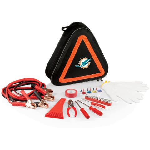 Picnic Time Miami Dolphins Roadside Emergency Kit