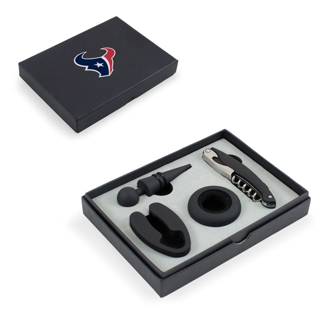 Picnic Time Houston Texans Metro Wine Tools