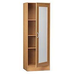 Black & Decker Multipurpose Single-door Frosted Door Storage Cabinet - Thumbnail 1