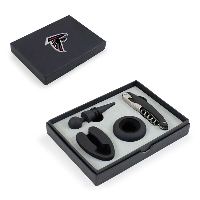 Picnic Time Atlanta Falcons Metro Wine Tools (Black)