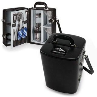Picnic Time Denver Broncos Black Manhattan Cocktail Case