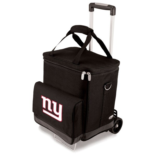 Picnic Time Black New York Giants Cellar with Trolley