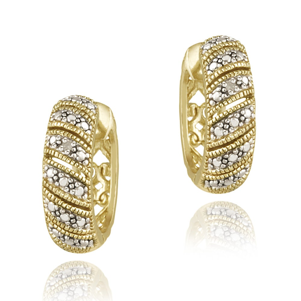 tdw h yellow tiny diamond gold accent i heart earrings yg aayna stud