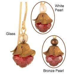 'Zita' 14k Goldfilled Pearl Earrings (3-5 mm)