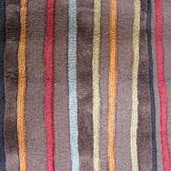 Hand-tufted Caulfield Brown Multi Rug (7'9 x 9'9)