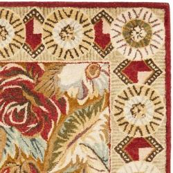 Safavieh Handmade Autumn Multi Hand-spun Wool Rug (3' x 5') - Thumbnail 1