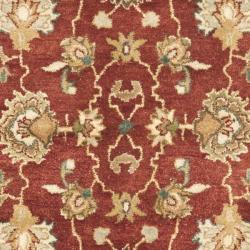 Safavieh Handmade Oushak Rust/ Ivory Hand-spun Wool Rug (3' x 5') - Thumbnail 2