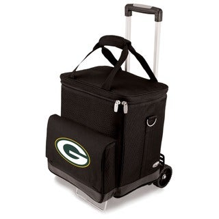 Link to Picnic Time Green Bay Packers Cellar & Trolley - Black Similar Items in Fan Shop