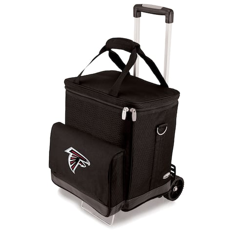 Picnic Time Atlanta Falcons Cellar & Trolley - Black