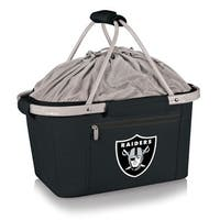 Picnic Time Oakland Raiders Metro Basket - Black